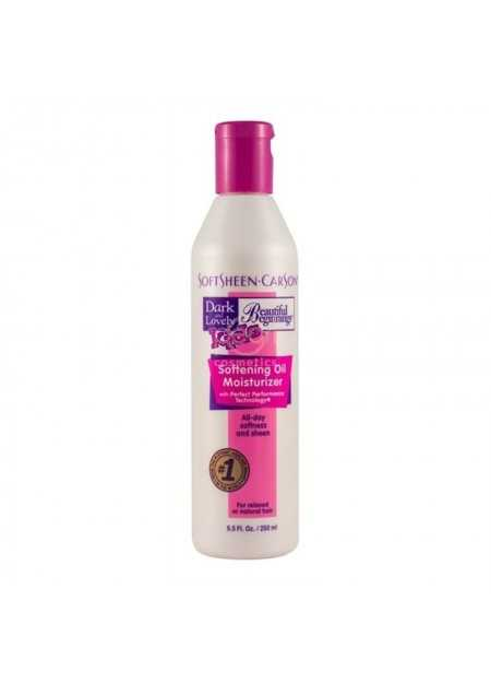 DARK & LOVELY KIDS BEAUTIFUL BEGINNINGS SOFTENING OIL MOISTURIZER FOR RELAXED OR NATURAL HAIR 250 ML