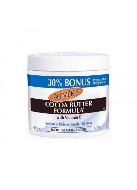 PALMER'S COCOA BUTTER FORMULA WITH VITAMIN E 24 HOUR MOISTURE 30 % BONUS 270 G