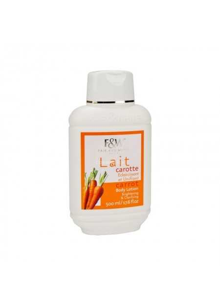 FAIR & WHITE ORIGINAL CARROT MOISTURIZING BODY LOTION BRIGHTENING & CLARIFYING 500 ML