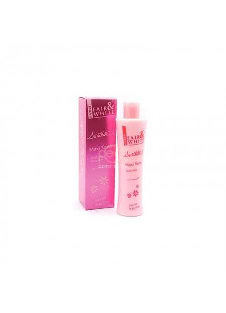 FAIR & WHITE MAXI TONE CLARIFYING BODY MILK 250 ML
