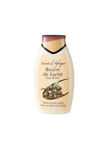BEURRE DE KARITE PUR SHEA BUTTER HAND AND BODY LOATION 500 ML