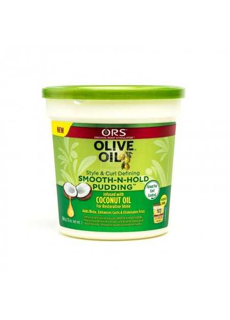 ORS OLIVE OIL STYLE & CURL DEFINING SMOOTH-N-HOLD PUDDING 368 G