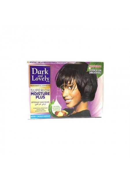 DARK & LOVELY PROFESSIONAL SUPERIOR MOISTURE PLUS RELAXER KIT REGULAR