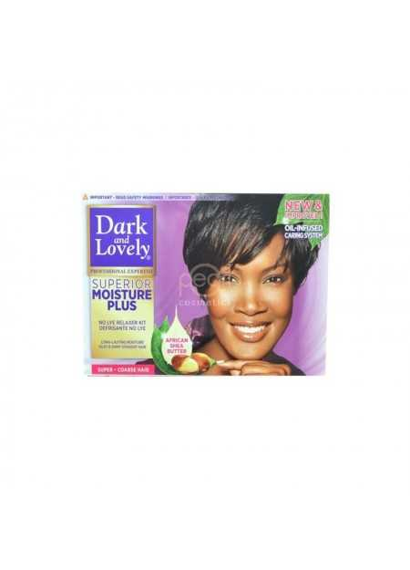 DARK & LOVELY PROFESSIONAL SUPERIOR MOISTURE PLUS RELAXER KIT SUPER