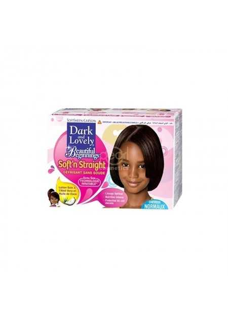 DARK & LOVELY BEAUTIFUL BEGINNINGS RELAXER KIT NORMAL