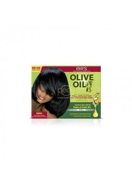 ORS OLIVE OIL BUILT-IN PROTECTION FULL APPLICATION NO-LYE RELAXER NORMAL