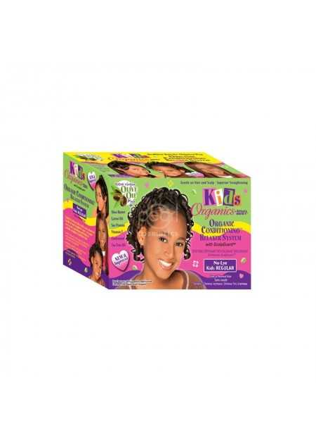AFRICA'S BEST KIDS ORGANICS NATURAL CONDITIONING NO-LYE RELAXER SYSTEM REGULAR