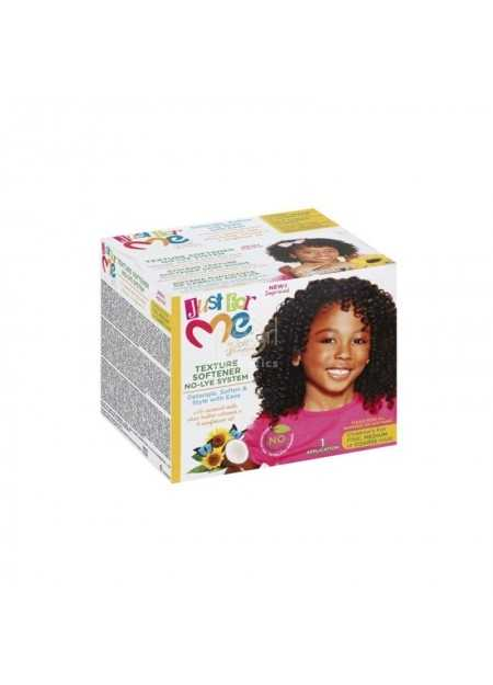 JUST FOR ME TEXTURE SOFTENER NO-LYE SYSTEM KIT KIDS