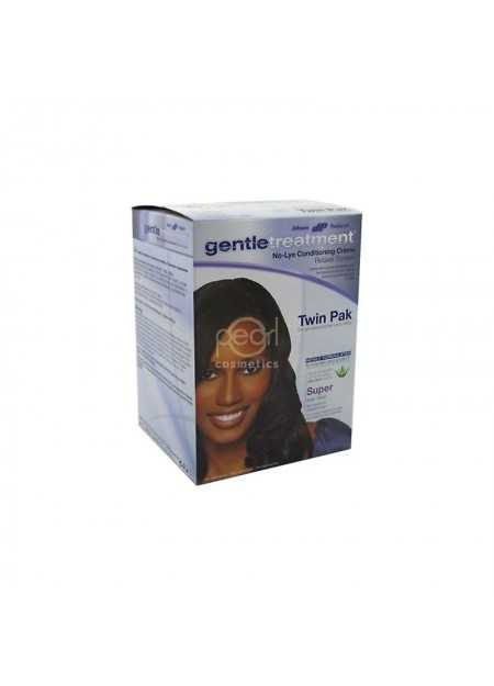 GENTLE TREATMENT NO-LEY CONDITIONING CREME RELAXER SYSTEM TWIN PAK SUPER
