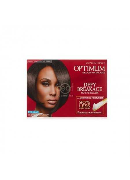 SOFTSHEEN-CARSON OPTIMUM DEFY BREAKAGE NO-LYE RELAXER KIT REGULAR