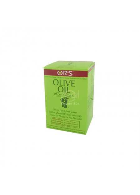 ORS OLIVE OIL PROFESSIONAL NO-LYE RELAXER SYSTEM KIT TWIN PACK NORMAL