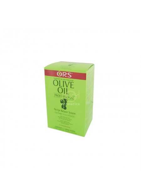 ORS OLIVE OIL PROFESSIONAL NO-LYE RELAXER SYSTEM KIT TWIN PACK EXTRA STRENGTH