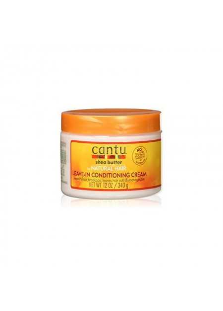 CANTU CARE SHEA BUTTER FOR NATURAL HAIR LEAVE-IN CONDITIONING CREAM 340 G