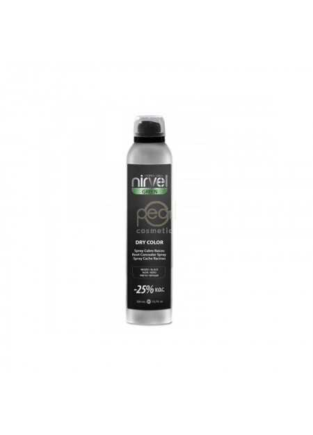 NIRVEL PROFESSIONAL GREEN DRY COLOR BLACK 300 ML