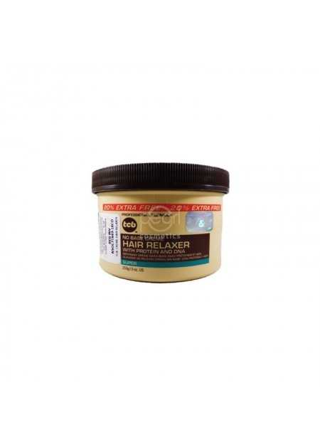 TCB NO BASE CREME HAIR RELAXER JAR SUPER 255 G