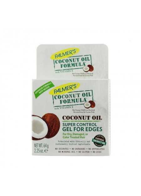 PALMER'S COCONUT OIL FORMULA COCONUT OIL SUPER CONTROL GEL FOR EDGES 64 G