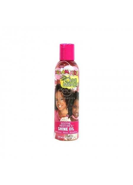 AFRICAN PRIDE DREAM KIDS OLIVE MIRACLE SHINE OIL 177 ML