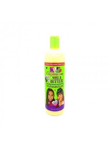 AFRICA'S BEST KIDS ORGANICS HAIR LOTION SHEA BUTTER DETANGLING MOISTURIZING 473 ML