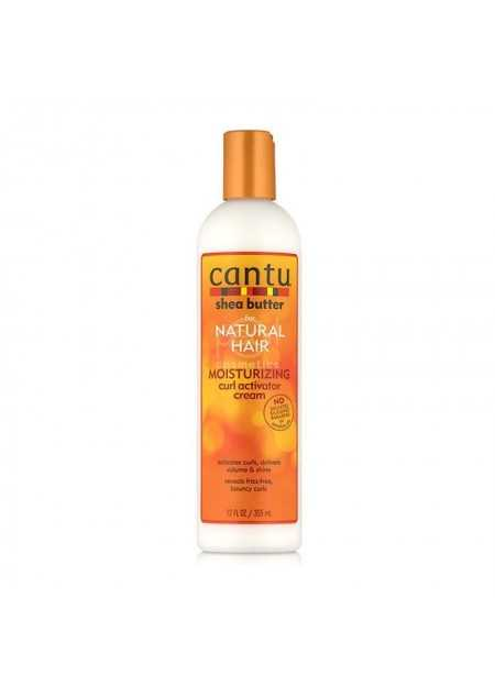 CANTU CARE SHEA BUTTER FOR NATURAL HAIR MOISTURIZING CURL ACTIVATOR CREAM 355 ML
