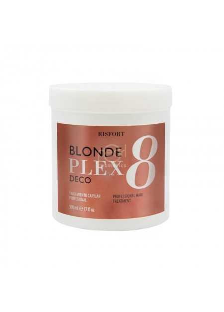 RISFORT POLVO DECOLORANTE BLONDE PLEX 500 ML