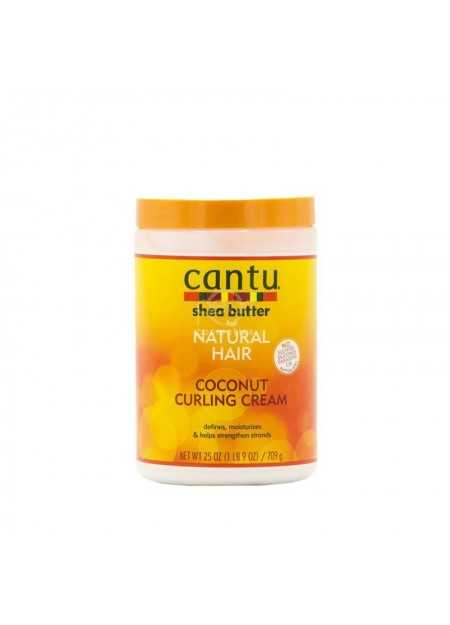 CANTU SHEA BUTTER FOR NATURAL HAIR COCONUT CURLING CREAM 709 G