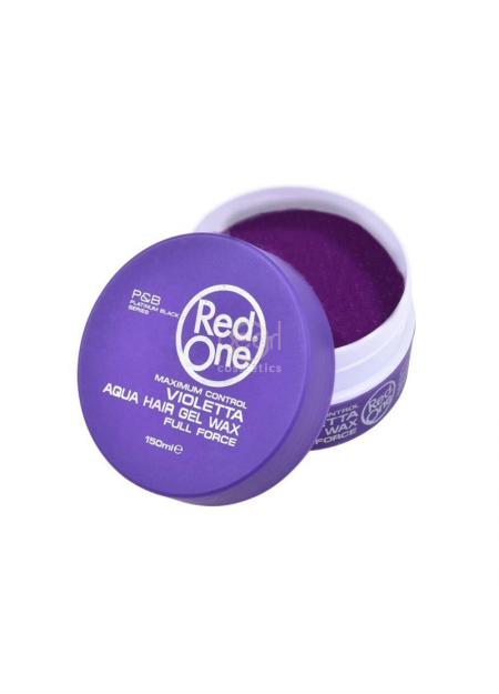 RED ONE VIOLETTA AQUA HAIR GEL WAX 150 ML
