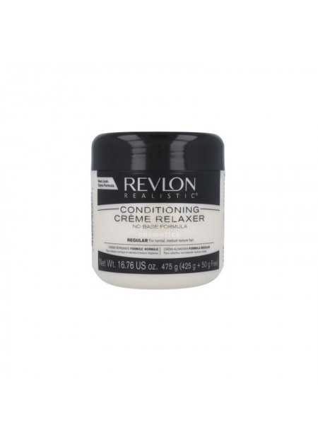 REVLON REALISTIC NO-BASE CONDITIONING CREME RELAXER REGULAR 425 G