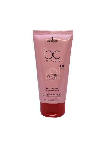 SCHWARZKOPF BC PEPTIDE REPAIR RESCUE SEALED ENDS TRATAMIENTO REPARACION PELO 150 ML