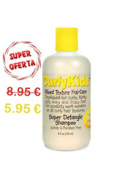 CURLYKIDS SUPER DETANGLE SHAMPOO 236 ML