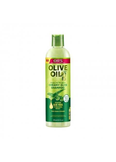 ORS OLIVE OIL CREAMY ALOE SHAMPOO WITH ALOE VERA 370 ML