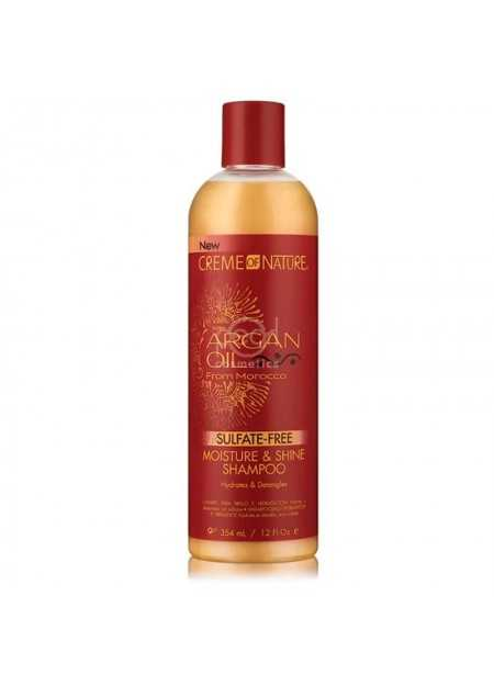 CREME OF NATURE SULFATE-FREE MOISTURE & SHINE SHAMPOO 354 ML