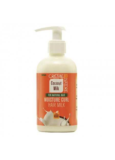 CREME OF NATURE COCONUT MILK MOISTURE CURL HAIR MILK 245 ML