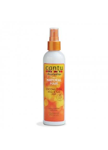 CANTU CARE SHEA BUTTER FOR NATURAL HAIR COCONUT OIL SHINE & HOLD MIST 237 ML