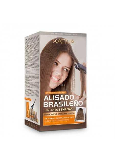 KATIVA KERATIN & ARGAN BRAZILIAN KIT DE ALISADO A BASE DE QUERATINA