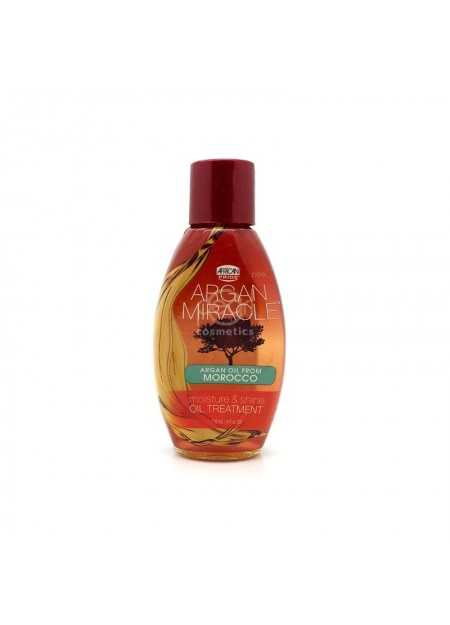 AFRICAN PRIDE ARGAN MIRACLE MOISTURE & SHINE OIL TREATMENT 118 ML