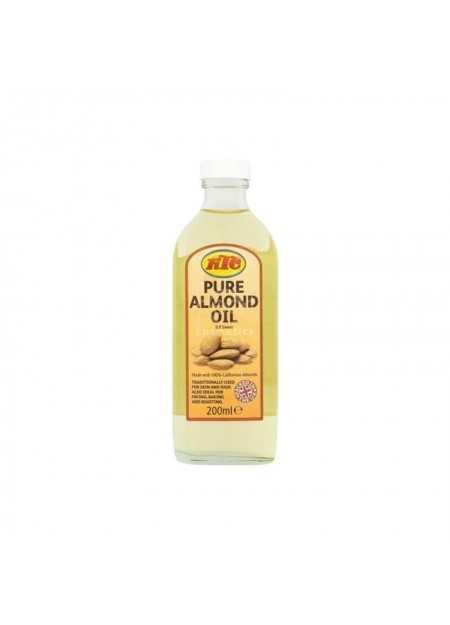 KTC 100% PURE ALMOND OIL 200 ML