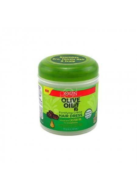 ORS OLIVE OIL CREME HAIR DRESS CASTOR OIL 170 G