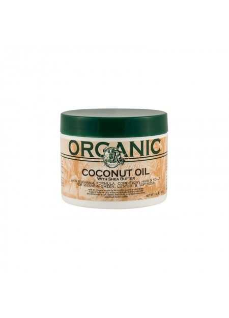 JR ORGANICS COCONUT OIL WITH SHEA BUTTER 227 G